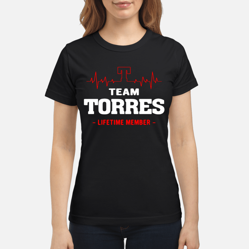 Team Torres Lifetime Member Ladies Tee