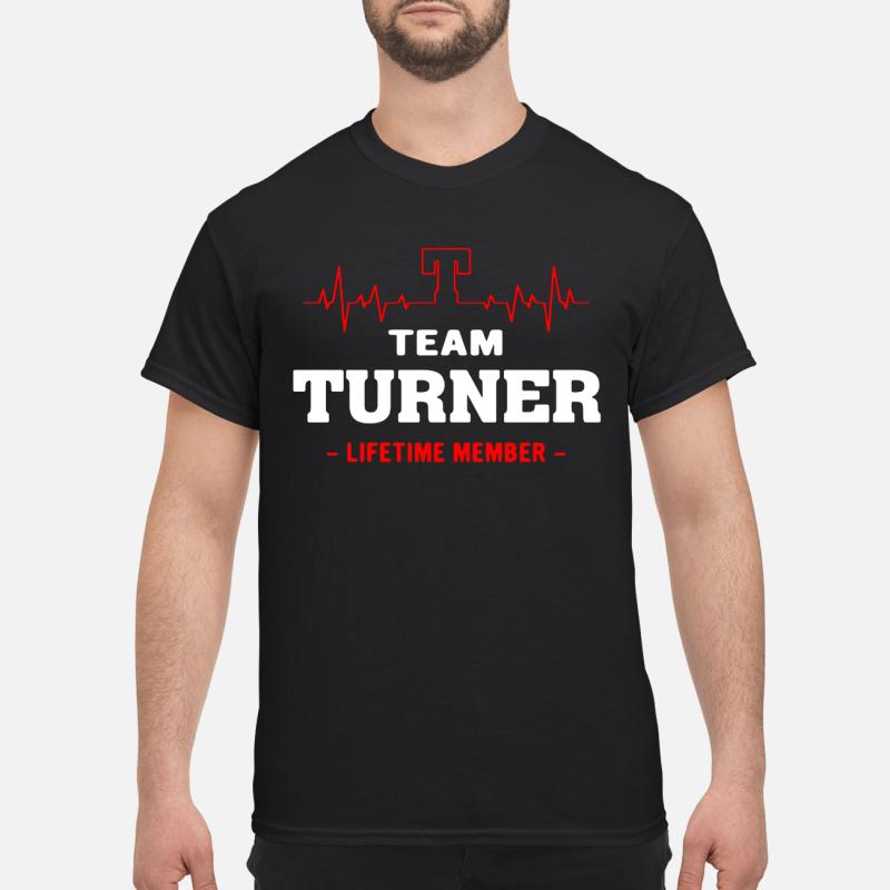 Team Turner Lifetime Member Guy Tees