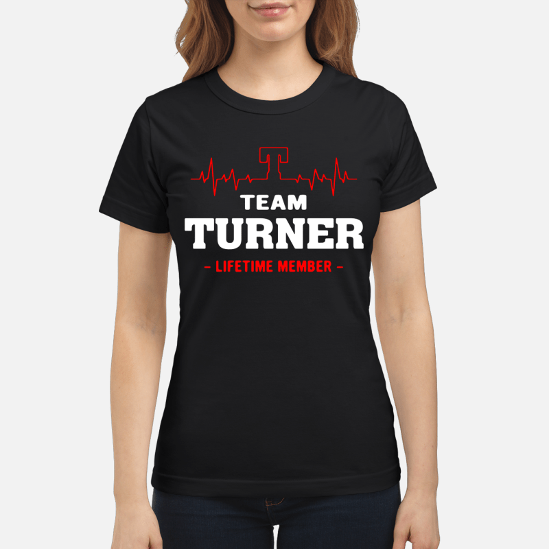 Team Turner Lifetime Member Ladies Tee
