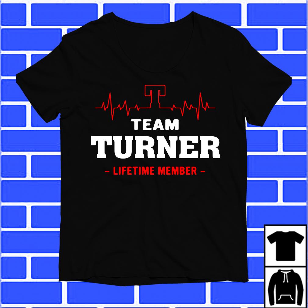 Team Turner Lifetime Member Shirt