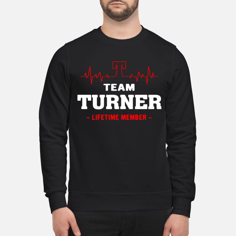 Team Turner Lifetime Member Sweater