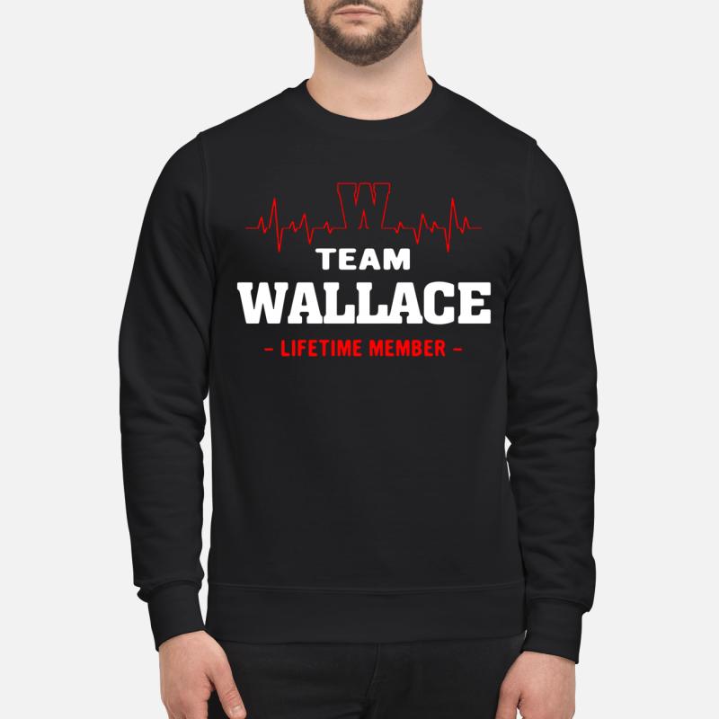 Team Wallace Lifetime Member Sweater