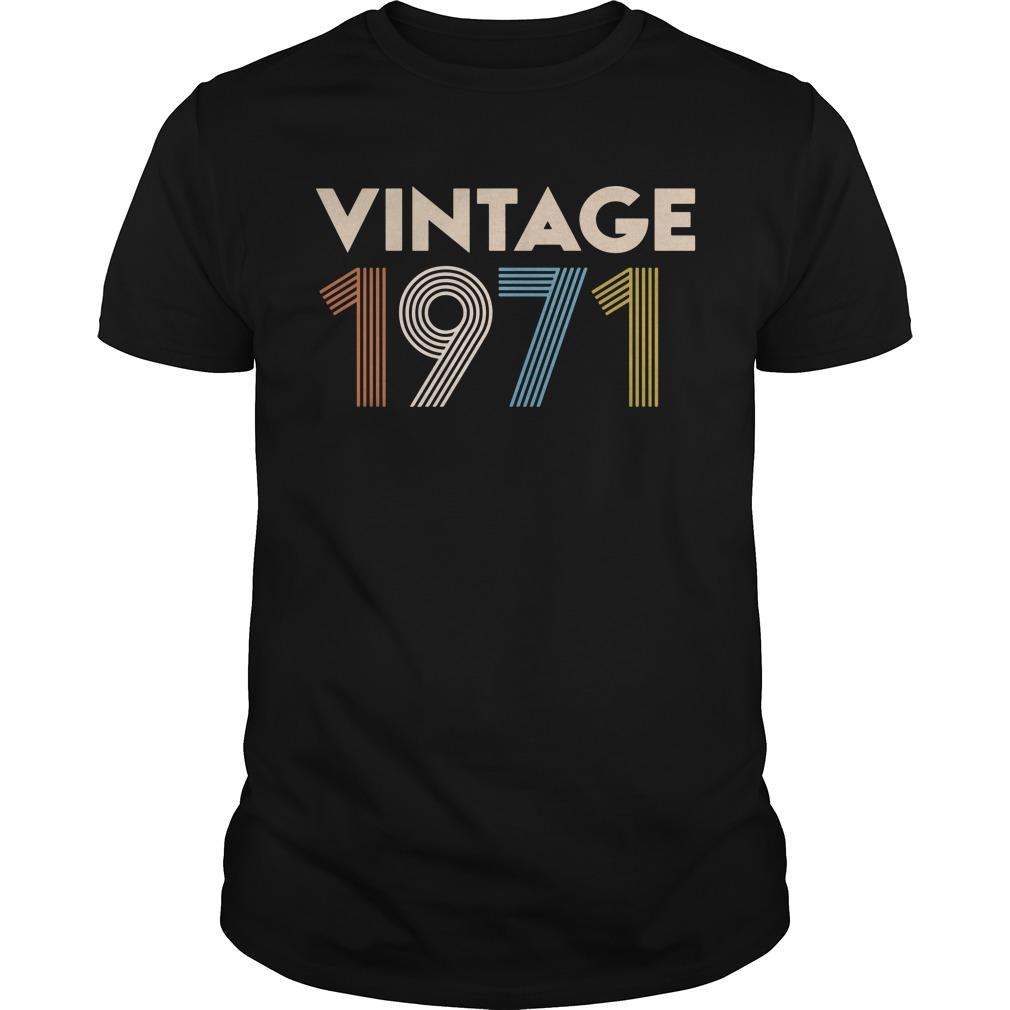 Vintage 1971 Guy Tees