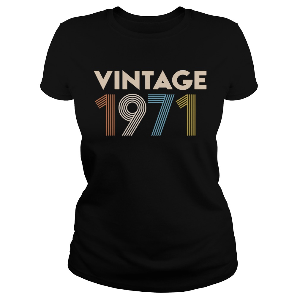 Vintage 1971 Ladies Tee