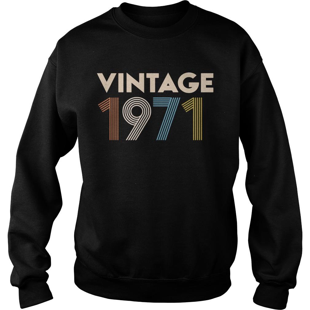 Vintage 1971 Sweater