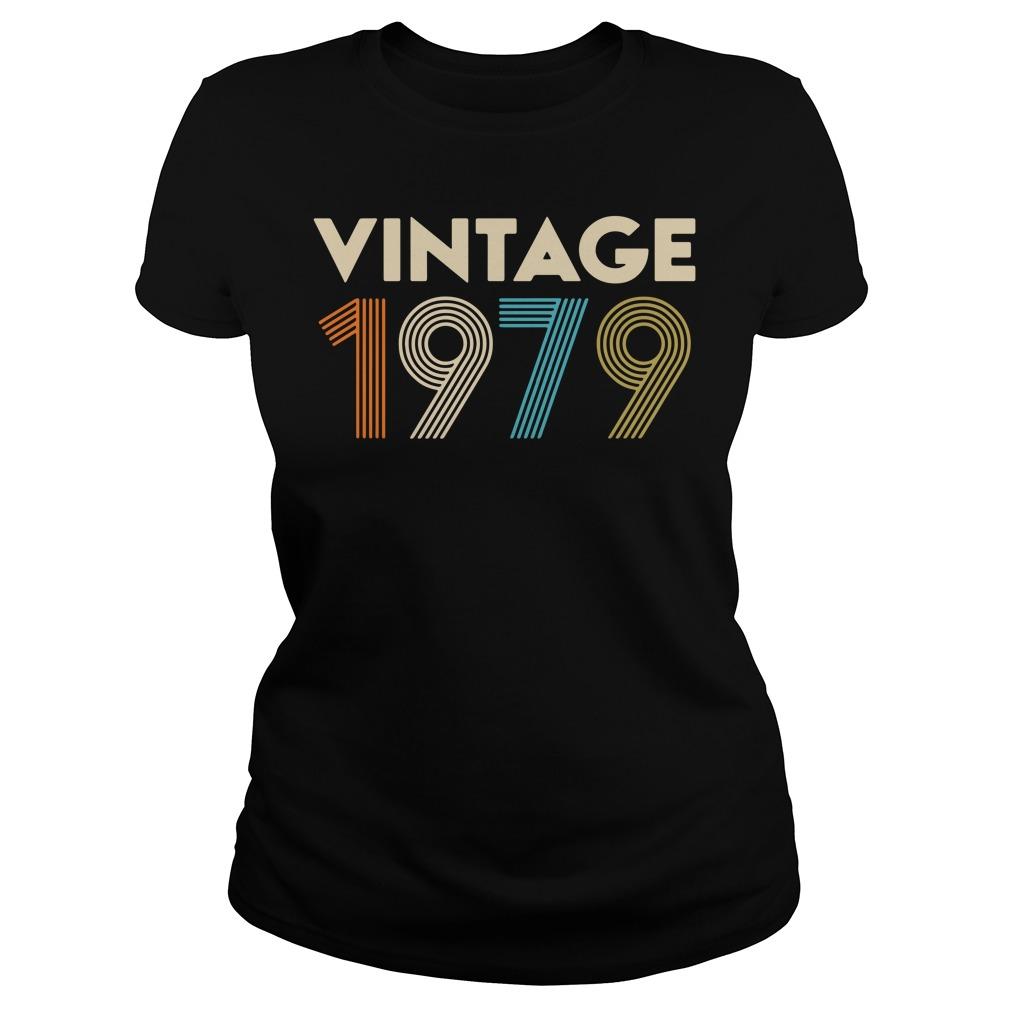 Vintage 1979 Ladies Tee