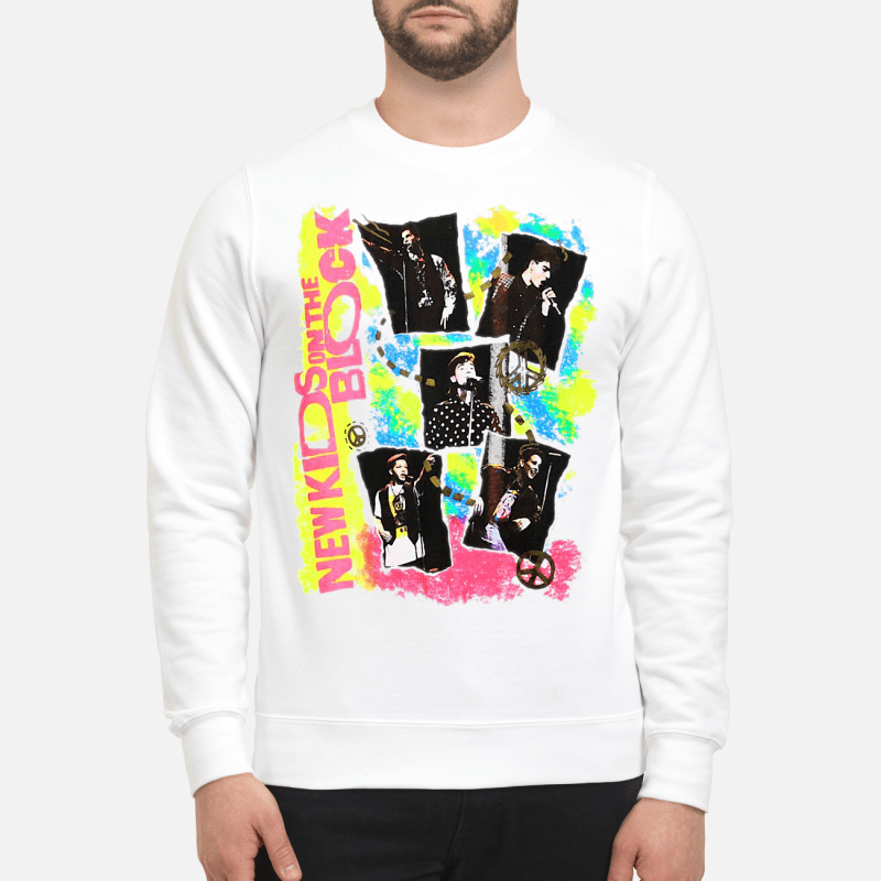 Vintage 80S 90S New Kids On The Block Sweater