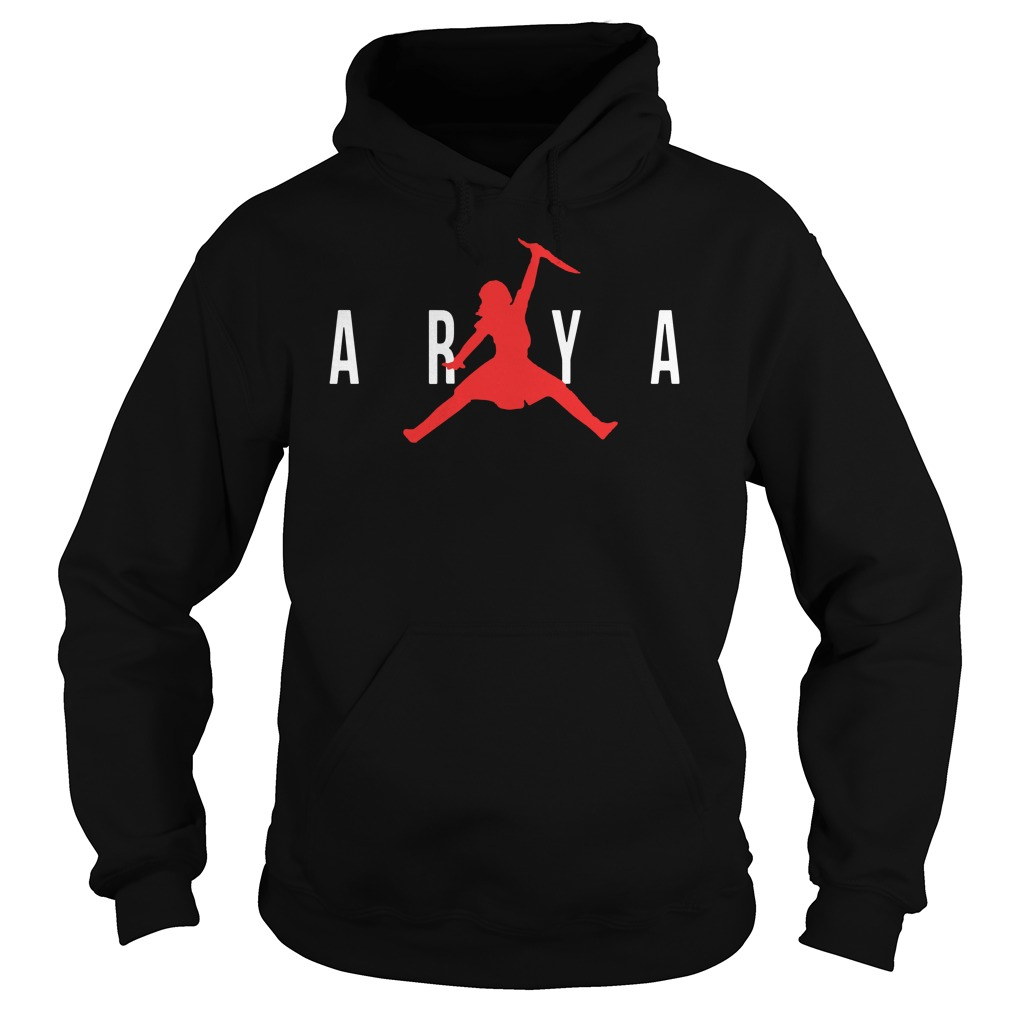 Arya Air Jordan Game Of Thrones Got Hoodie