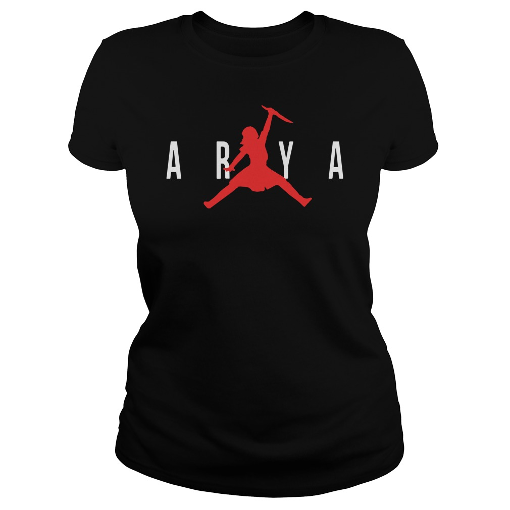 Arya Air Jordan Game Of Thrones Got Ladies Tee