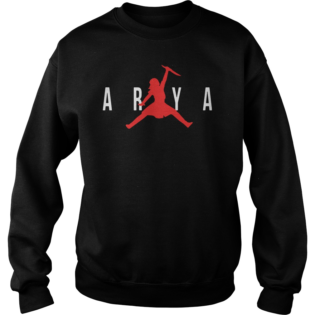 Arya Air Jordan Game Of Thrones Got Sweater