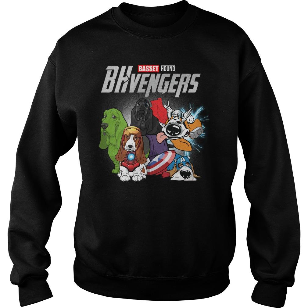 Bhvengers Basset Hound Dogs Sweater