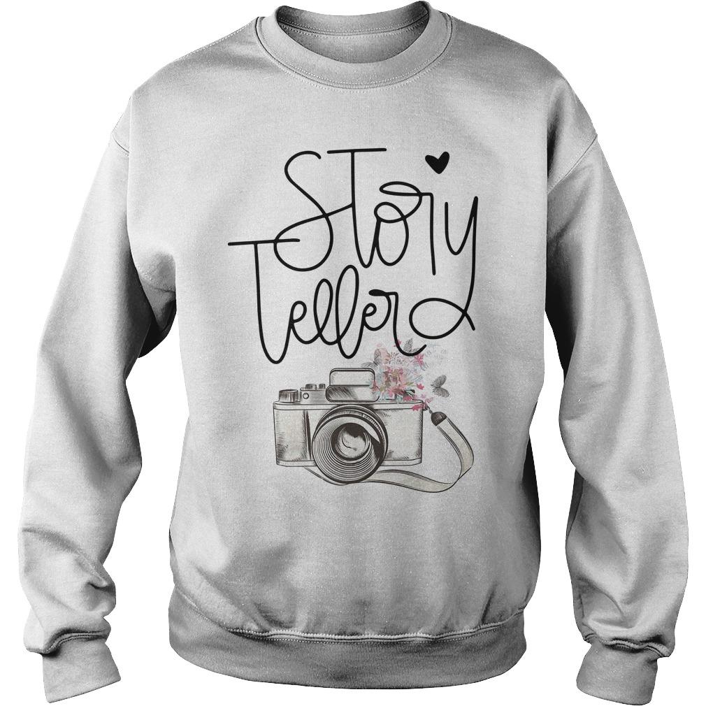 Camera Story Teller Sweater