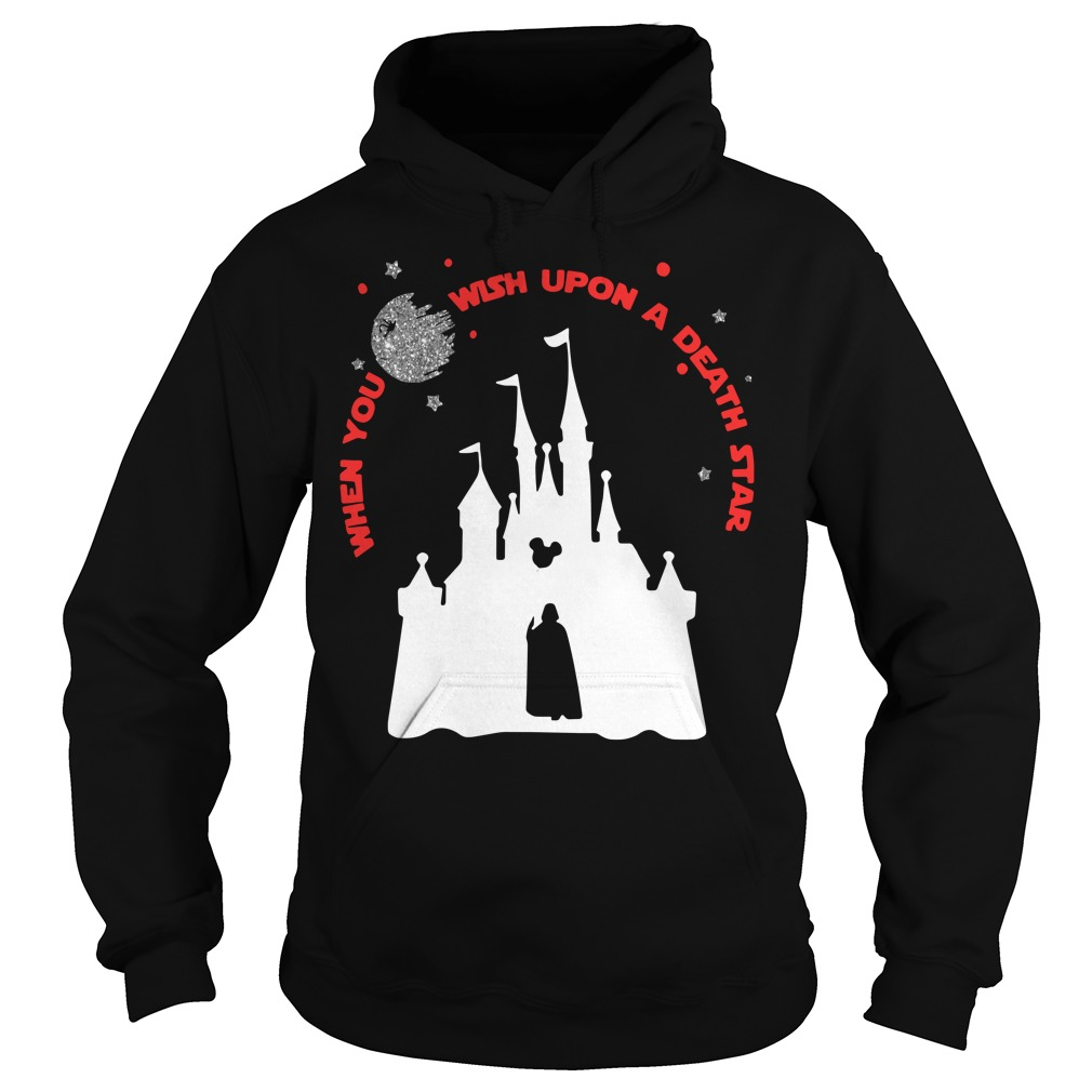Disney Star Wars When You Wish Upon A Death Star Hoodie