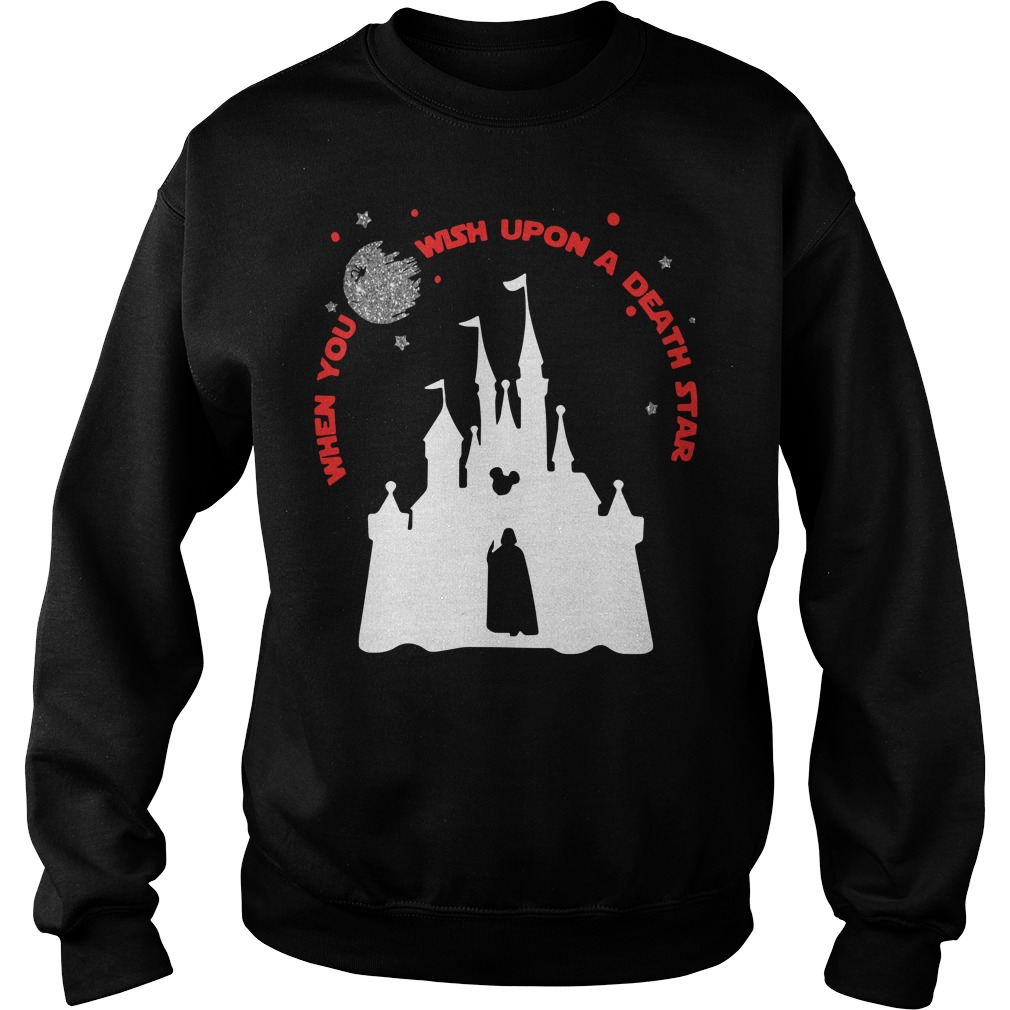 Disney Star Wars When You Wish Upon A Death Star Sweater
