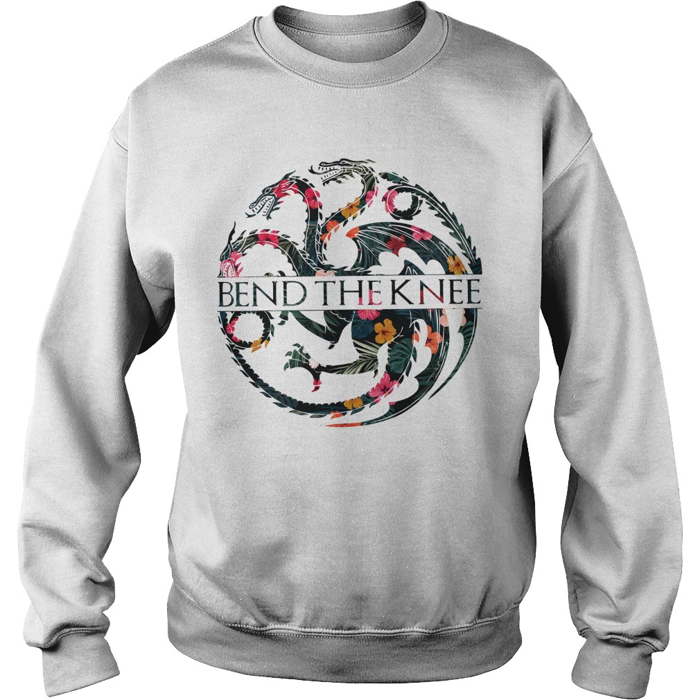Game Of Thrones Dragons Bend The Knee Sweater