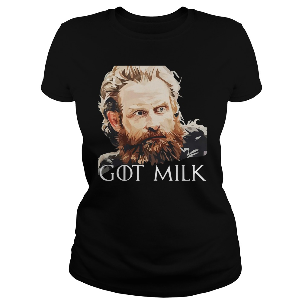 Game Of Thrones Tormund Brienne Got Milk Ladies Tee