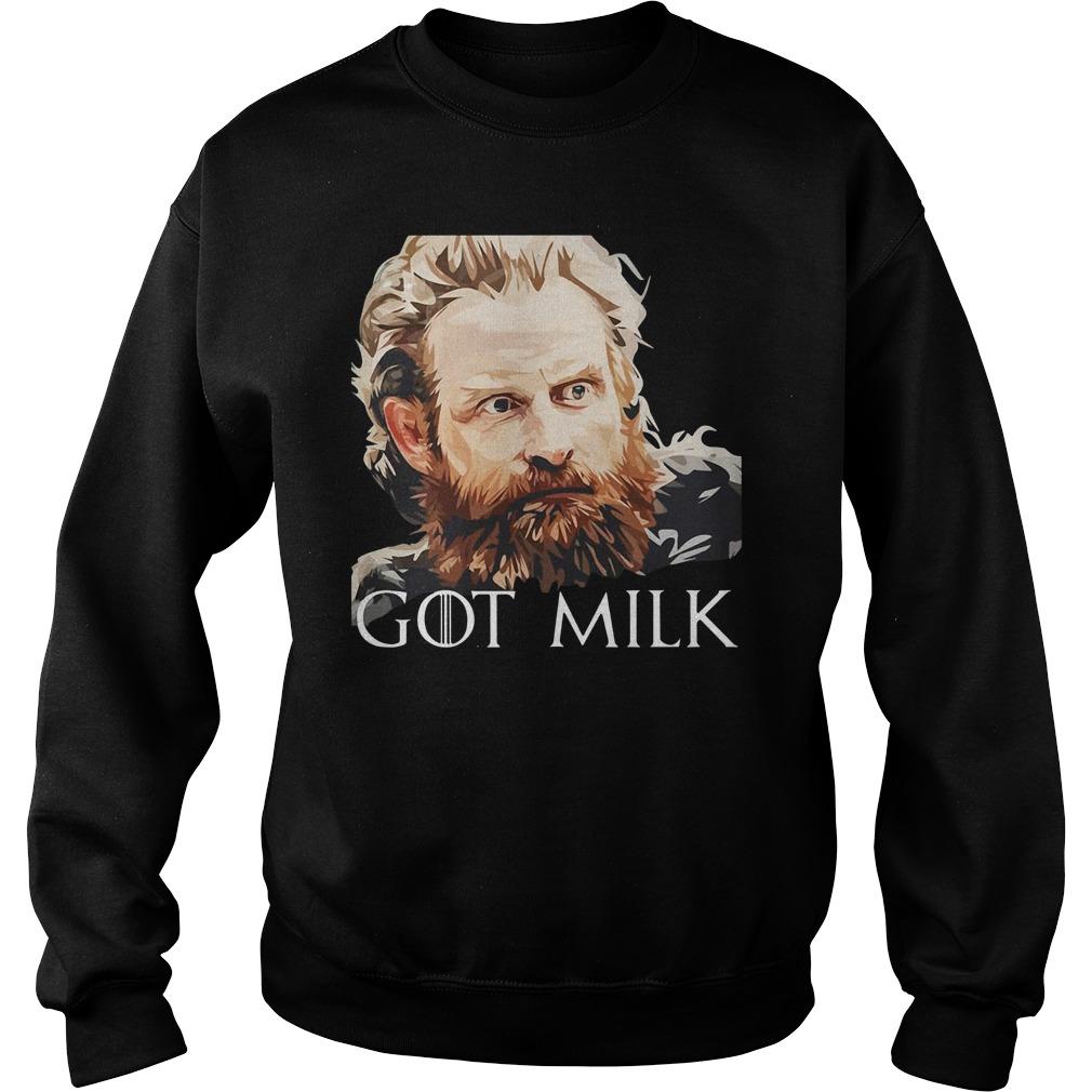 Game Of Thrones Tormund Brienne Got Milk Sweater