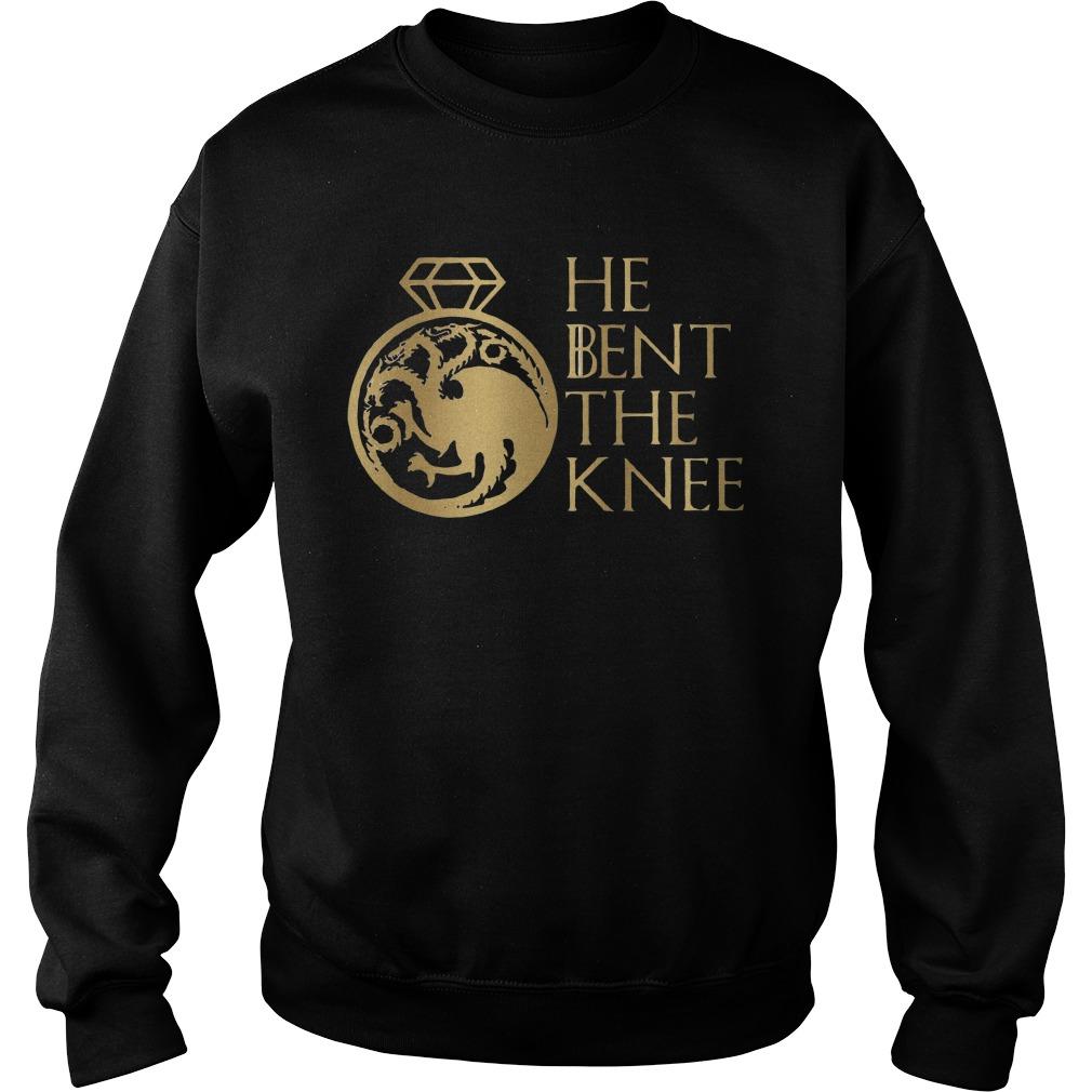 Games Of Thrones Targaryen He Bent The Knee Sweater