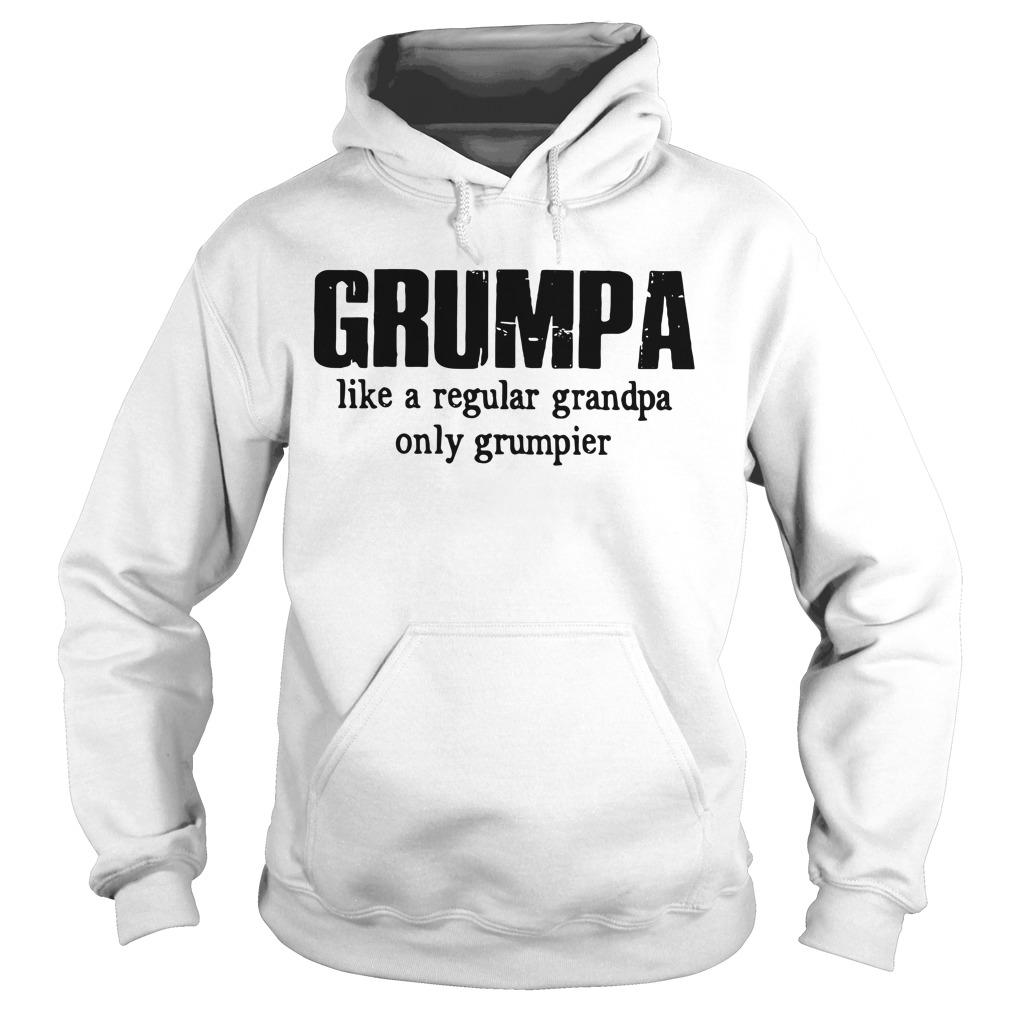 Grumpa Like A Regular Grandpa Only Grumpier Hoodie