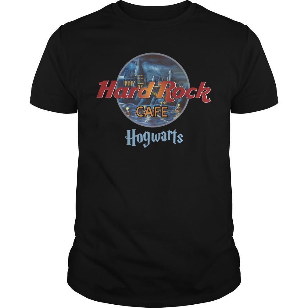 Harry Potter Hard Rock Cafe Hogwarts Guy Tees