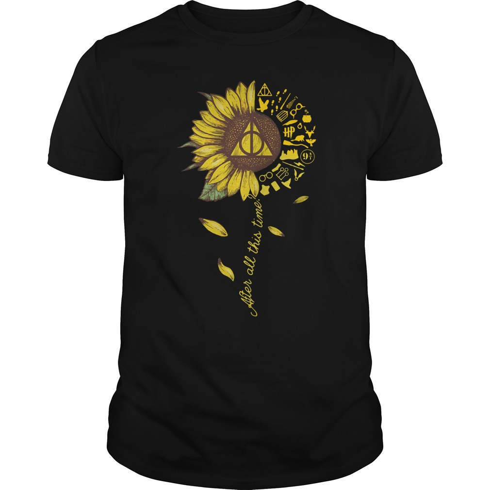 Harry Potter Sunflower After All This Time Guy Tees