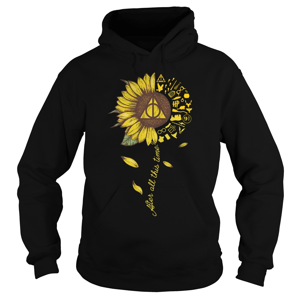 Harry Potter Sunflower After All This Time Hoodie