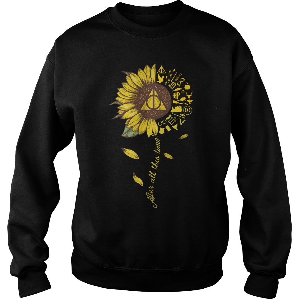 Harry Potter Sunflower After All This Time Sweater