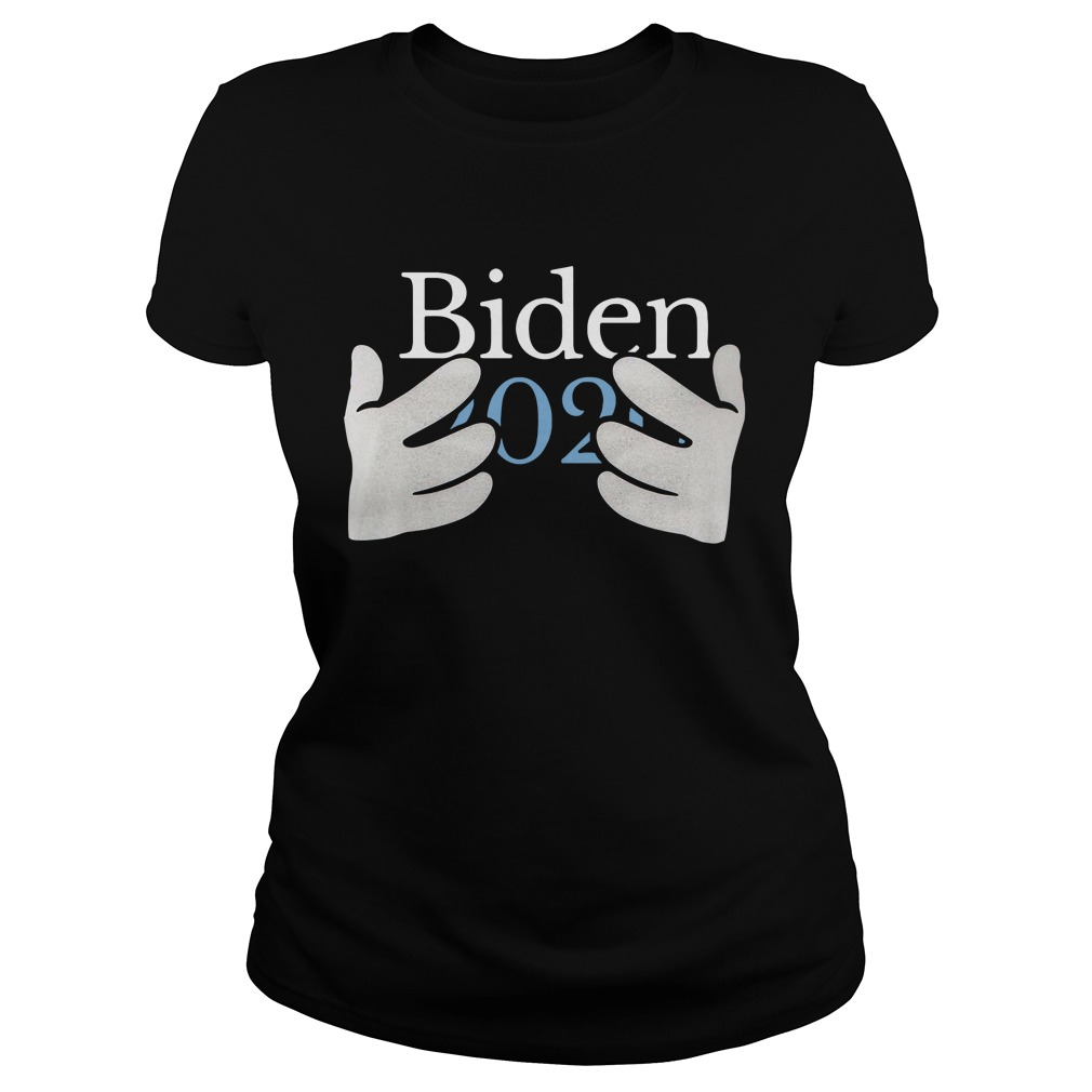 Joe Biden 2020 Hands Ladies Tee