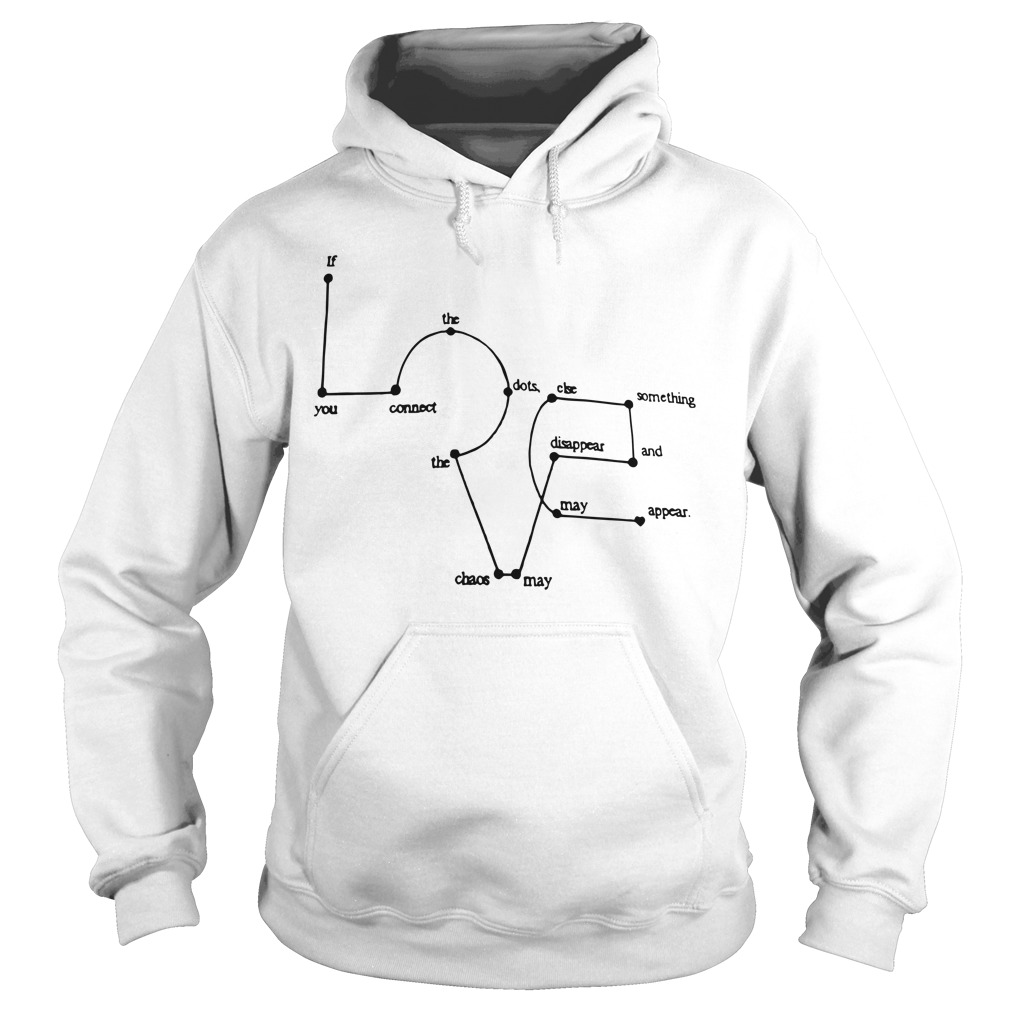 Love Appears Dots Hoodie