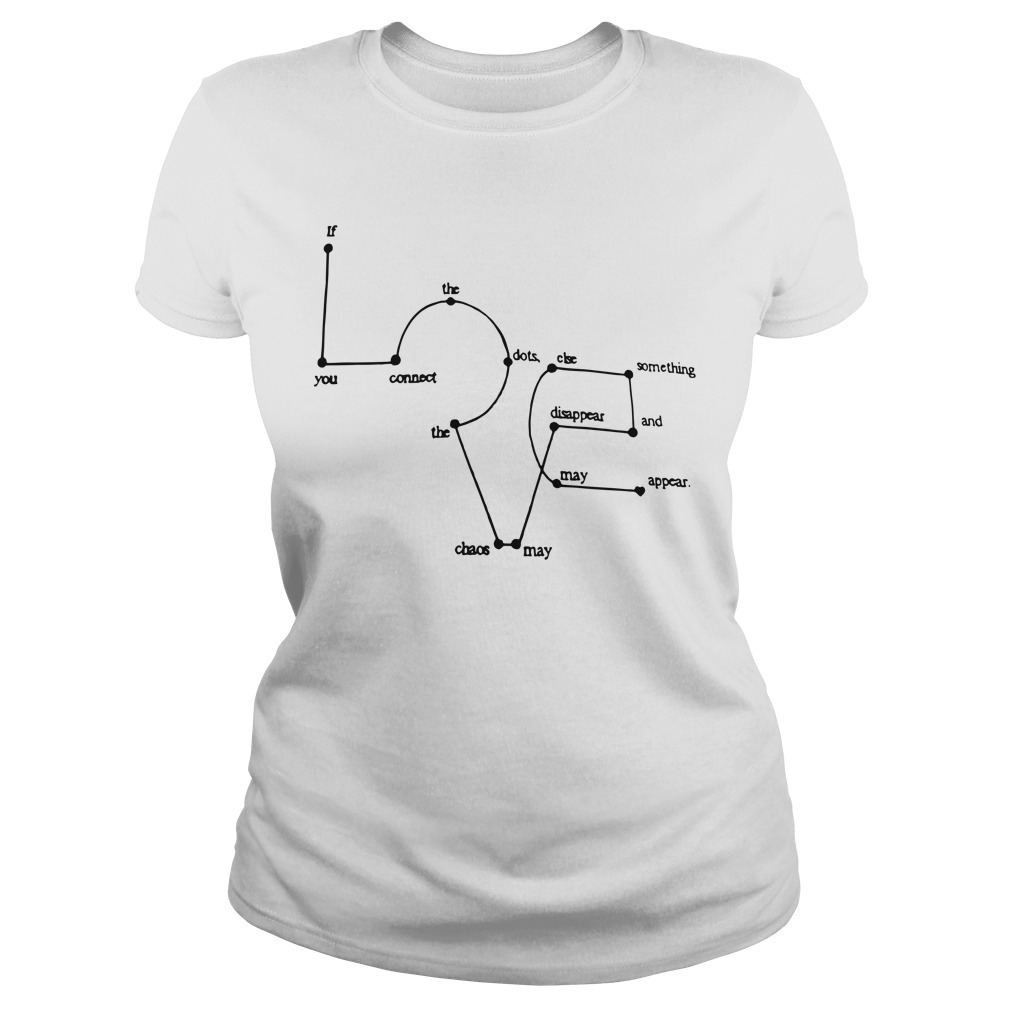 Love Appears Dots Ladies Tee