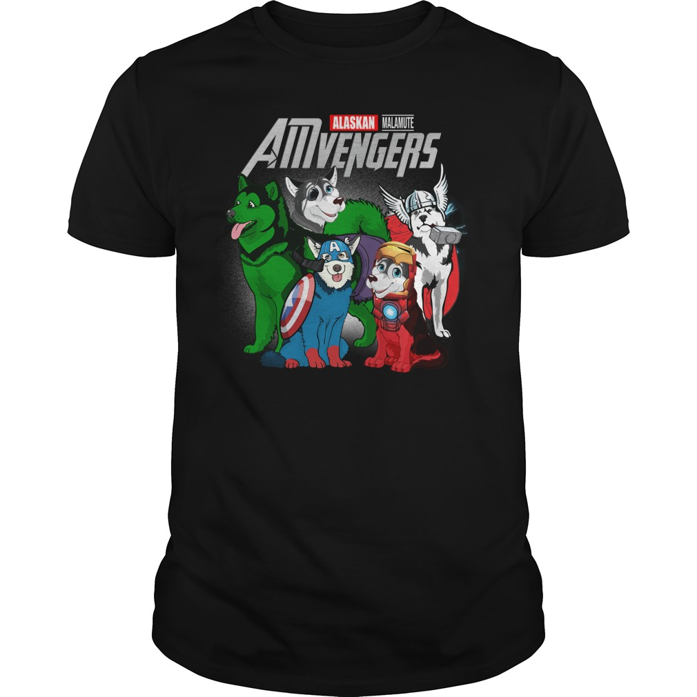 Marvel Amvengers Alaskan Malamute Version Guy Tees