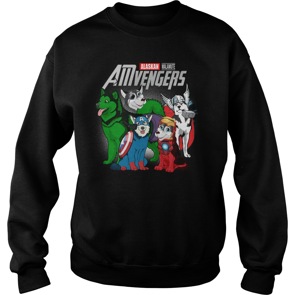 Marvel Amvengers Alaskan Malamute Version Sweater