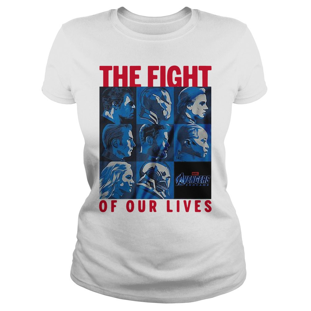 Marvel Avengers Endgame The Fight Of Our Lives Ladies Tee