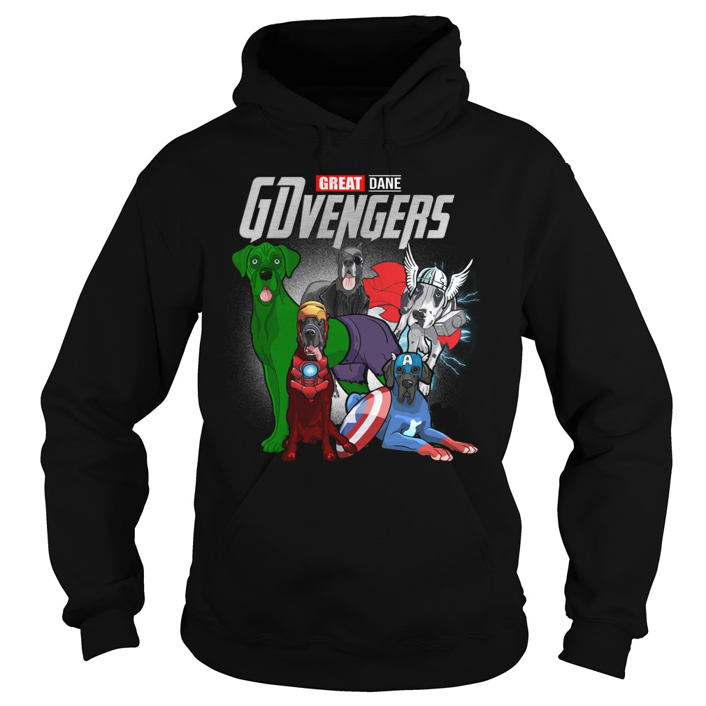 Marvel Gdvengers Great Dane Version Hoodie