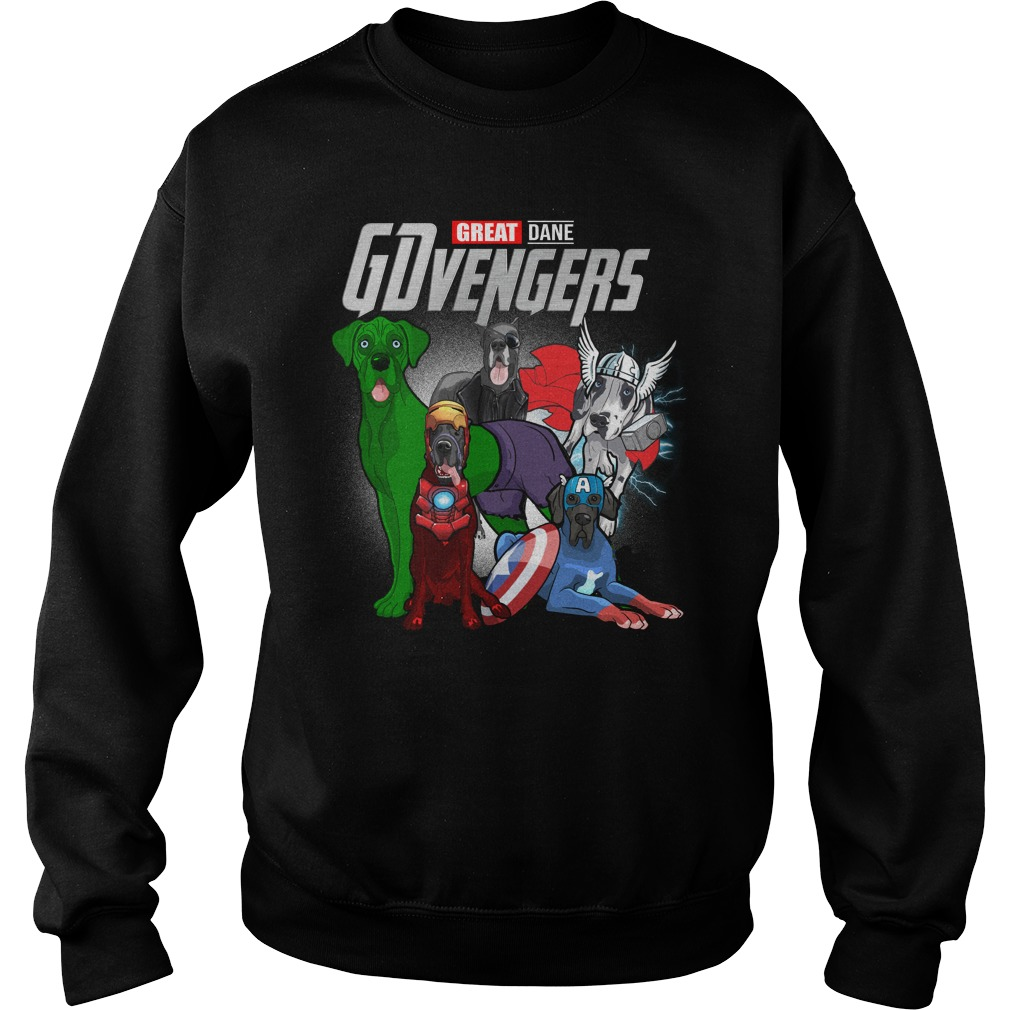 Marvel Gdvengers Great Dane Version Sweater