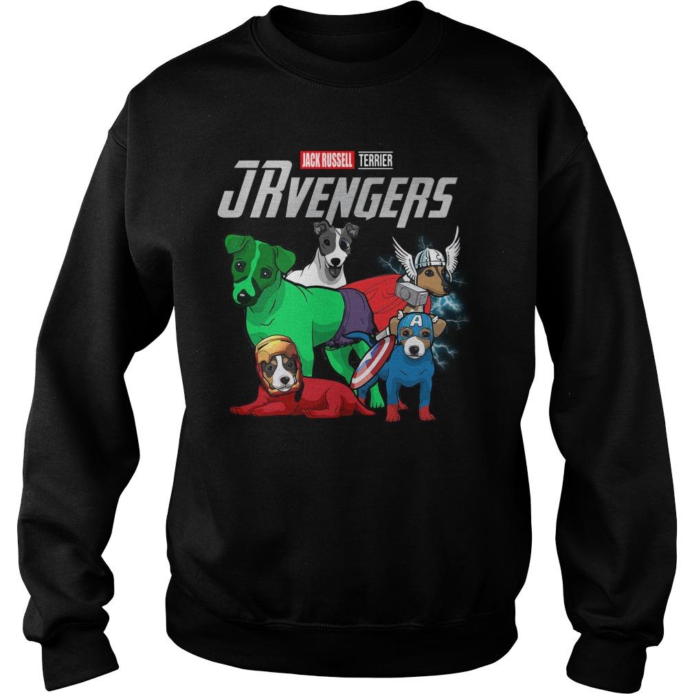Marvel Jrvengers Jack Russell Terrier Version Sweater