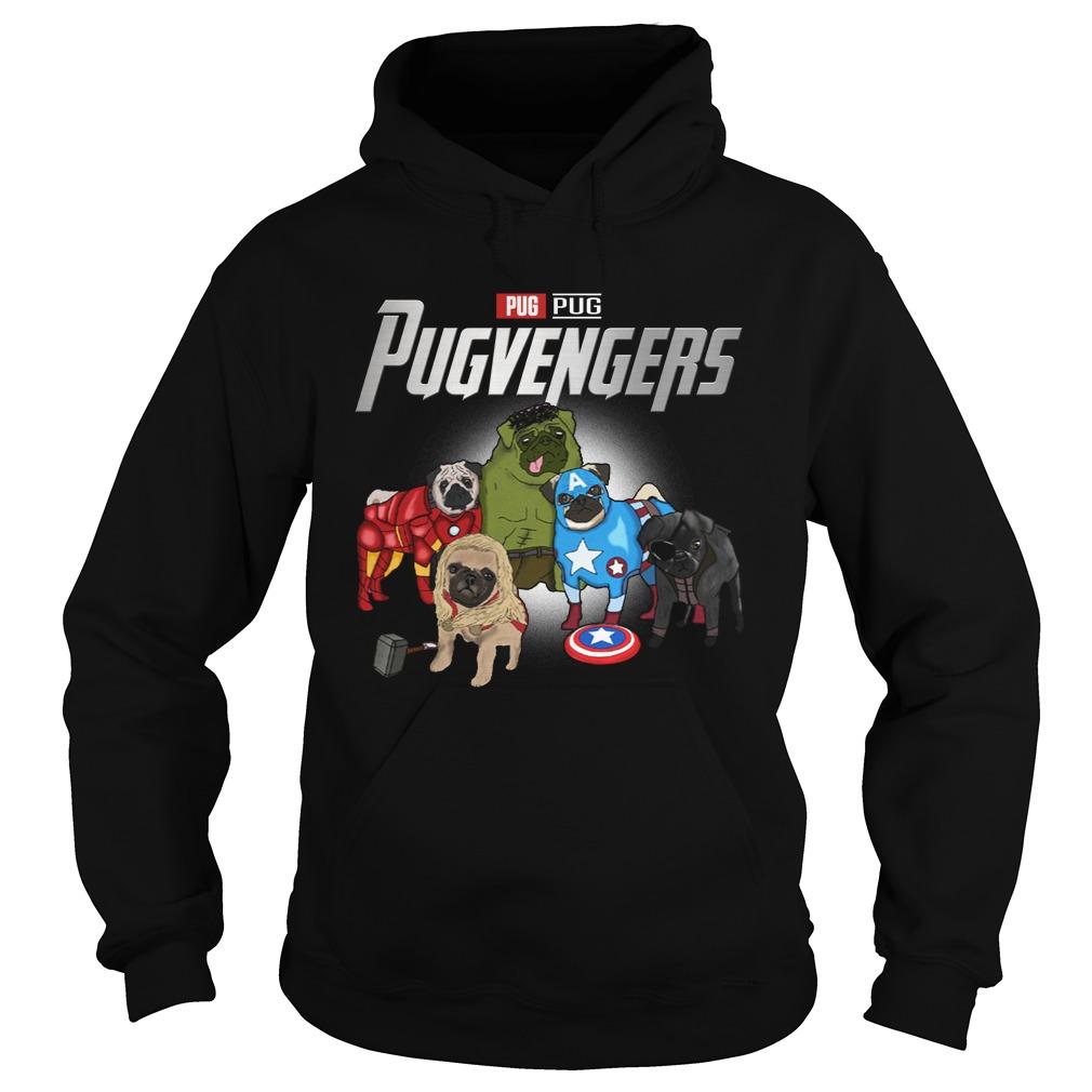 Marvel Pugvengers Pug Version Hoodie