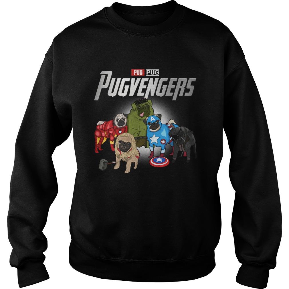 Marvel Pugvengers Pug Version Sweater