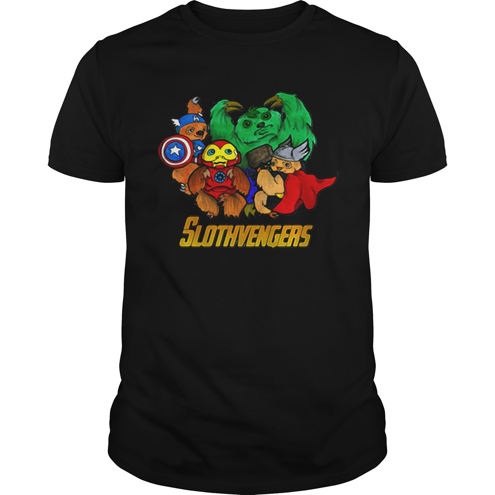 Marvel Slothvengers Sloth Version Guy Tees