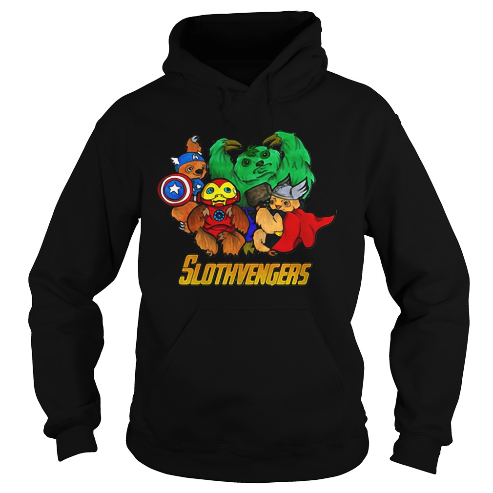 Marvel Slothvengers Sloth Version Hoodie