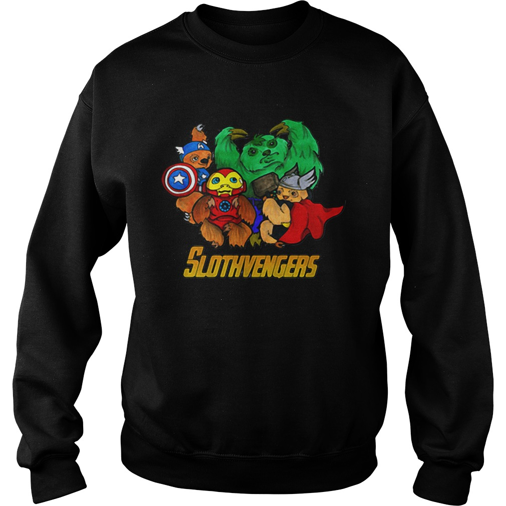 Marvel Slothvengers Sloth Version Sweater