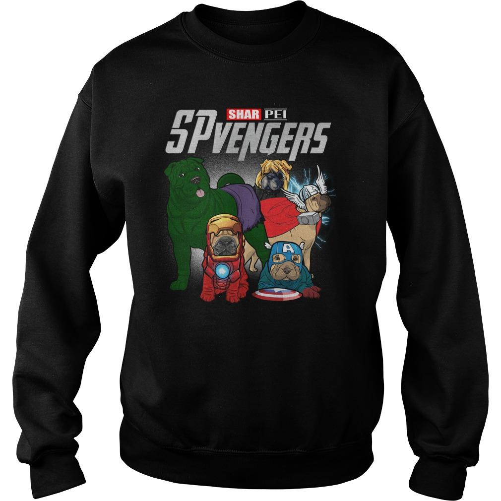 Marvel Spvengers Shar Pei Version Sweater