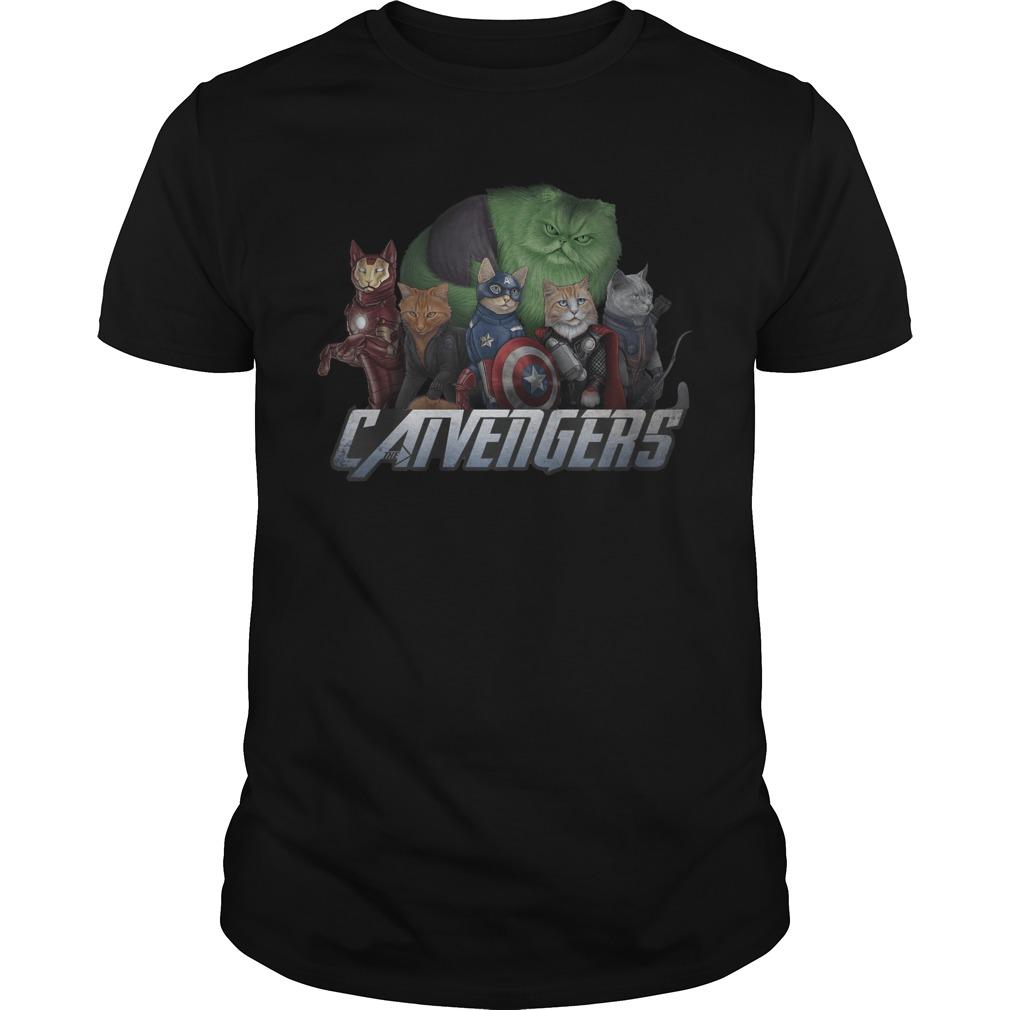 Marvel Superheroes Catvengers Cats Version Guy Tees