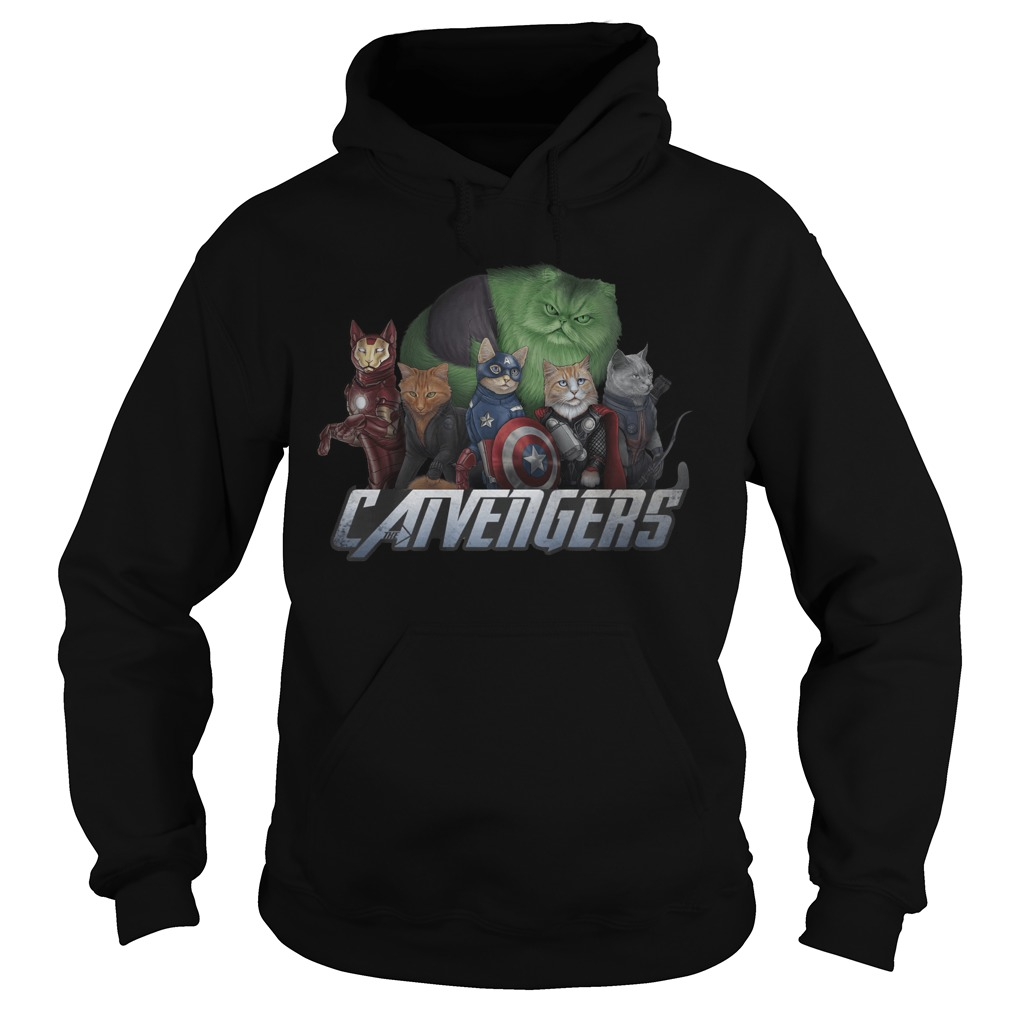 Marvel Superheroes Catvengers Cats Version Hoodie