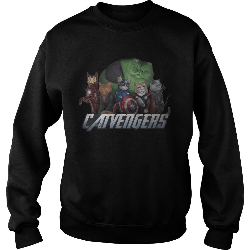 Marvel Superheroes Catvengers Cats Version Sweater