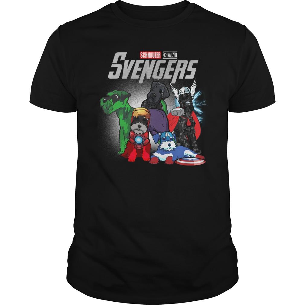 Marvel Svengers Schnauzer Version Guy Tees