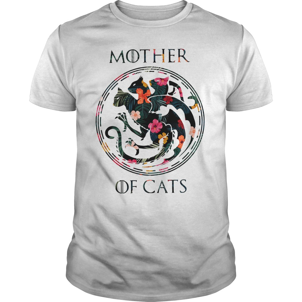 Mother Of Cats Guy Tees
