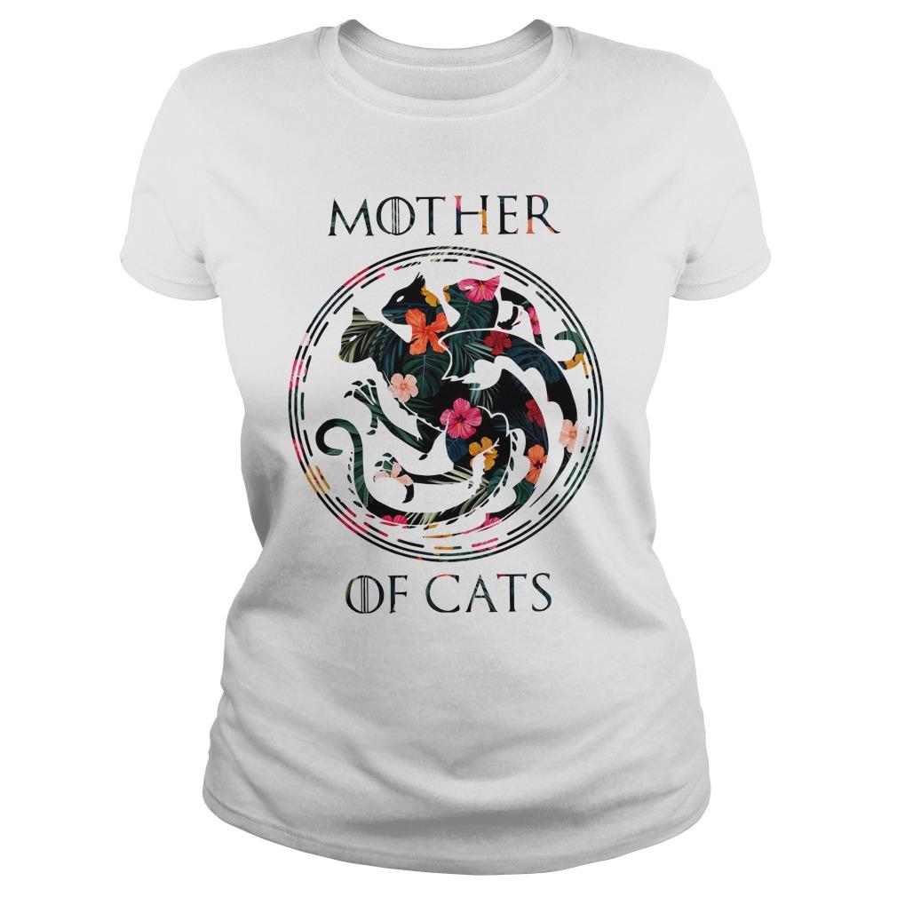 Mother Of Cats Ladies Tee
