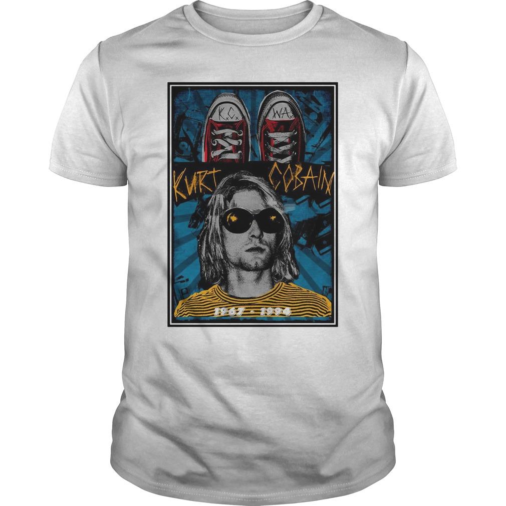 Rest In Peace Kurt Cobain Guy Tees