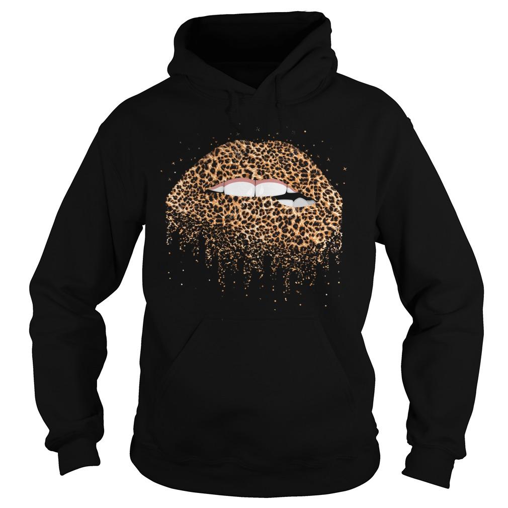 Sexy Leopard Lips Hoodie